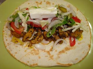 Receta de kebab de pollo con especias