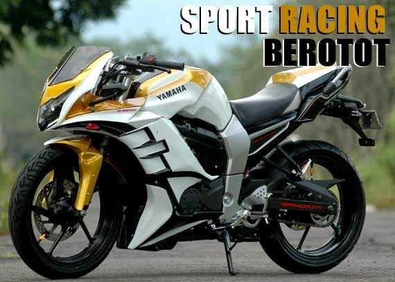 Modifikasi Yamaha Byson racing
