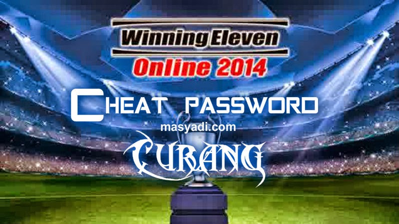 Inilah Password Terbaru Winning Eleven PS2 2014 Update