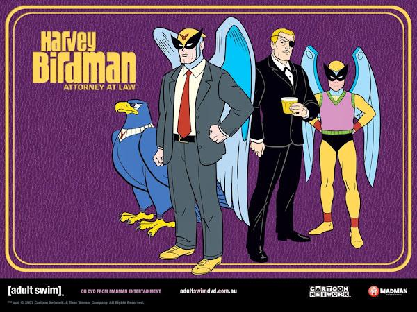 Harvey Birdman El Abogado Serie Completa Español Latino
