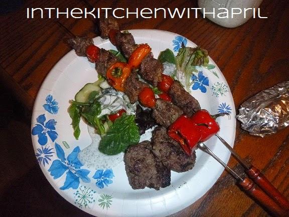 Şiş Kebap, Shish Kebab, Köfte, Salad