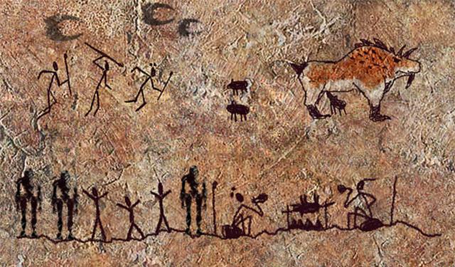 Man Made Cave Art : Arthinks the artists of altamira