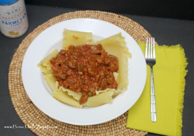 Lazy Deconstructed Lasagna Recipe | Home Made Zagat