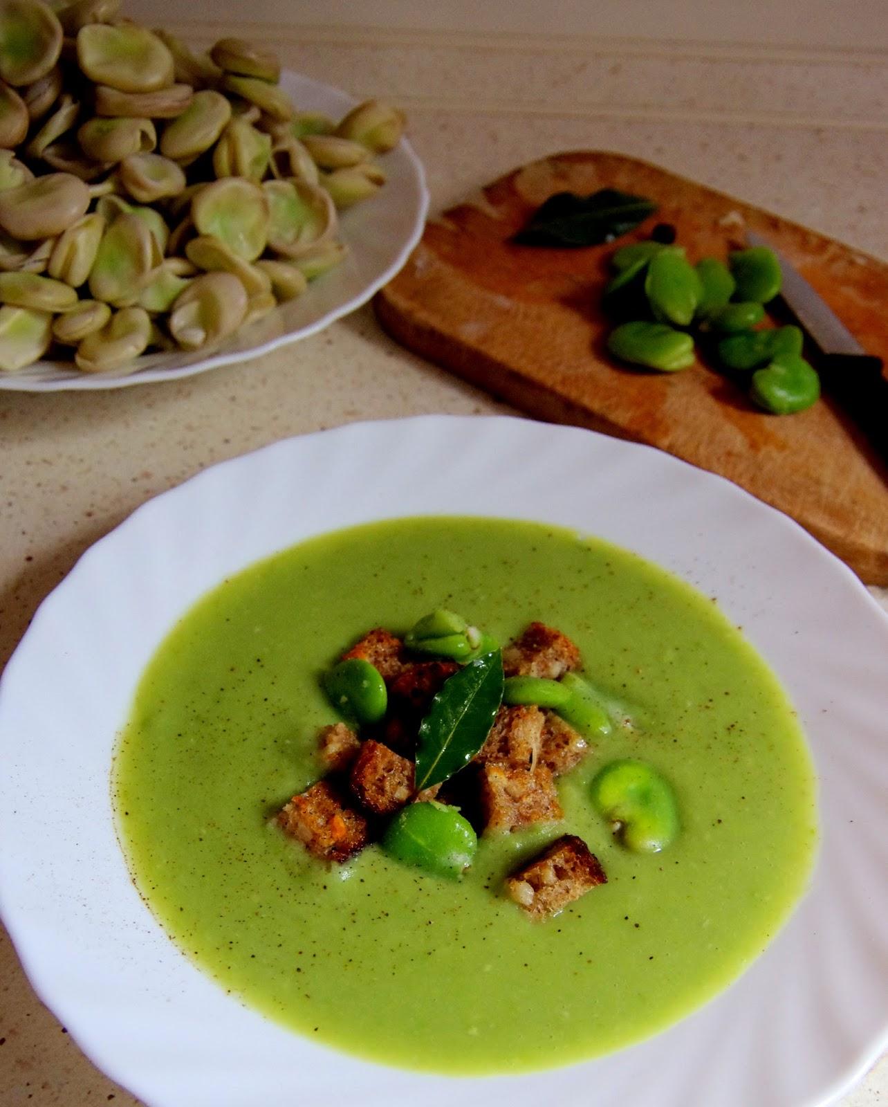 Recipe: Cream of Broad Beans Soup