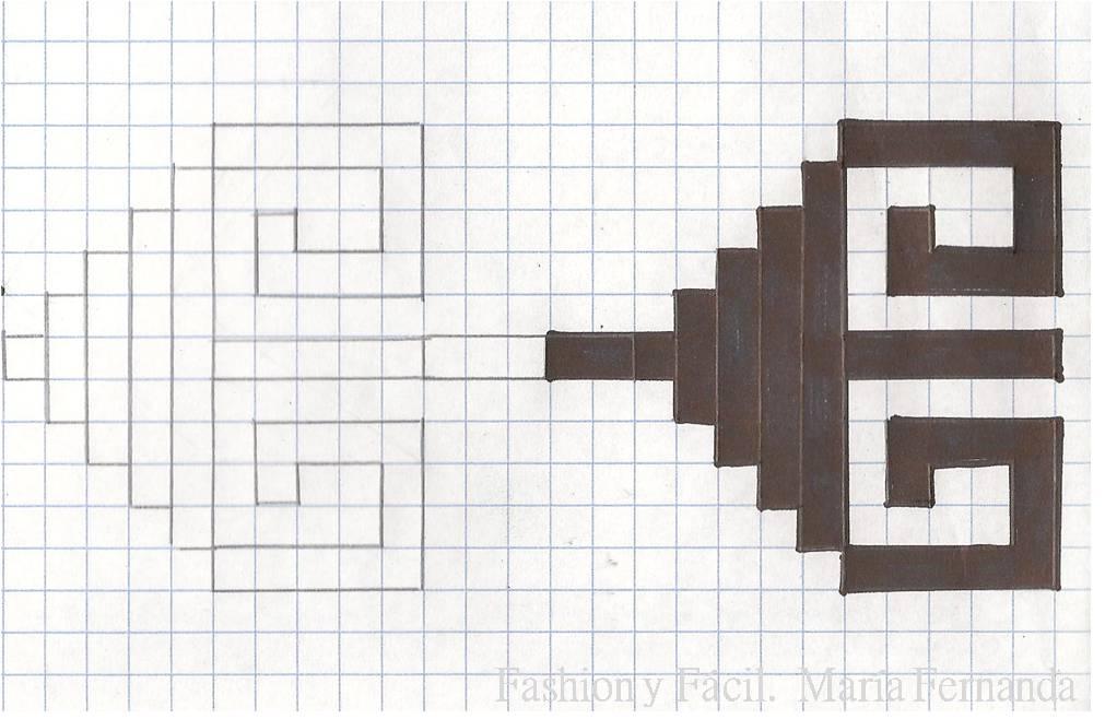 Fashion y Fácil : DIY Patrón azteca inspiration. (DIY Aztec pattern ...