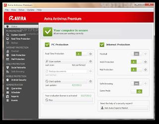 Avira Antivirus Premium 2013 13.0.0.3185 Full Key