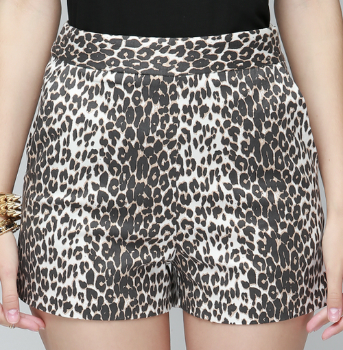Modern Leopard Shorts
