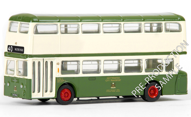 18015 - Daimler Fleetline - Nottingham City Transport EXCLUSIVE FIRST EDITIONS