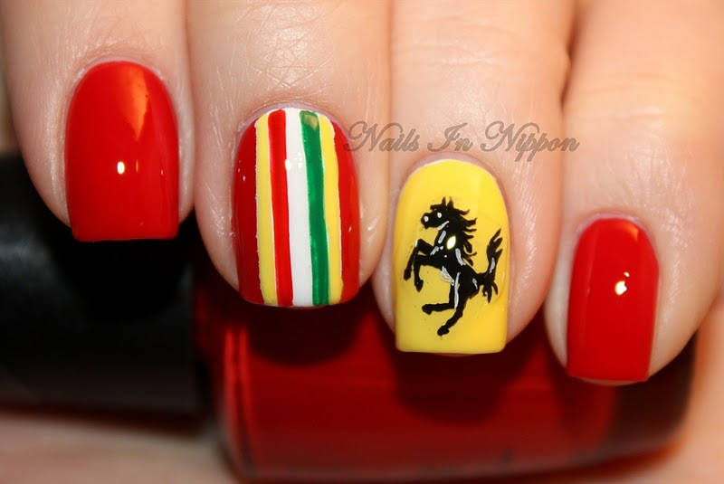 Nails In Nippon: Ferrari Nails