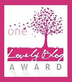 8º Premio! Lovely Blog