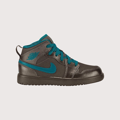 Air Jordan 1 Mid Flex (10.5c-3y) Pre-School Girls' Shoe # 555111-027