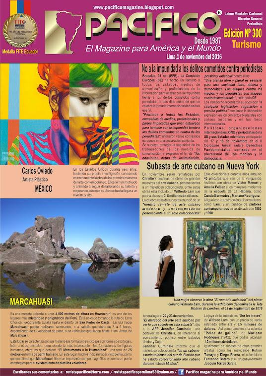 Revista Pacífico Nº 300 Turismo