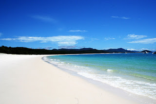 Whithaven Beach, Queensland, Australia, Beautiful Holiday Destinations, amriholiday, white sand beach, pure silica