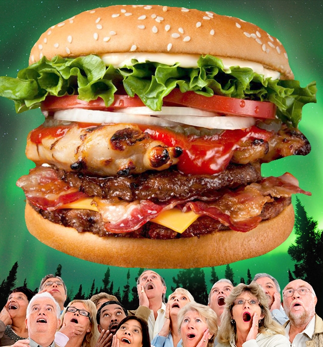 The 11 Grossest Fast-Food Abominations in the World The EpicMealTime    Grossest Picture In The World