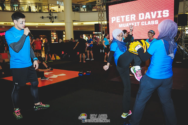 Combat Class with Peter Davis @ Under Armour Earn Your Armour Campaign