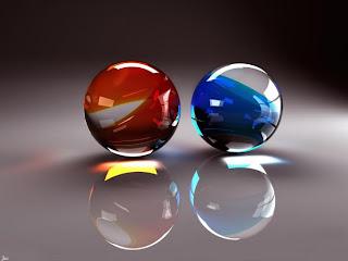 Las esferas son del mismo tamaño y volumen, pero diferente peso