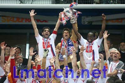 ليون بطلا لكأس فرنسا 2012