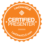 A LexDirect CLE Certified Presenter