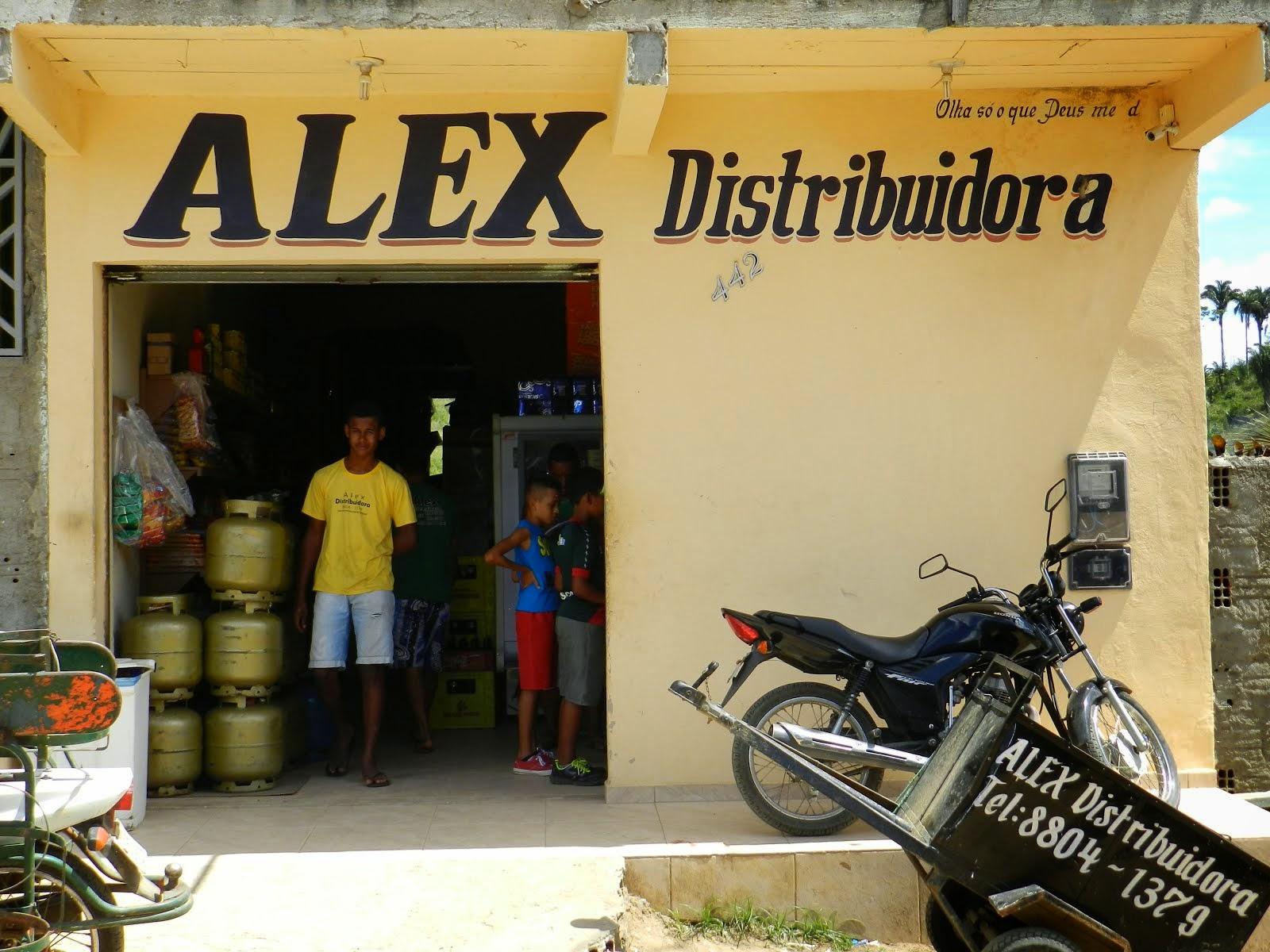 ALEX DISTRIBUIDORA NO BAIRRO SÃO LOURENÇO