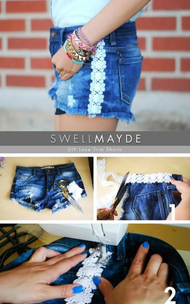 Ideas para tener unos pantalones cortos originales   Moda y Belleza
