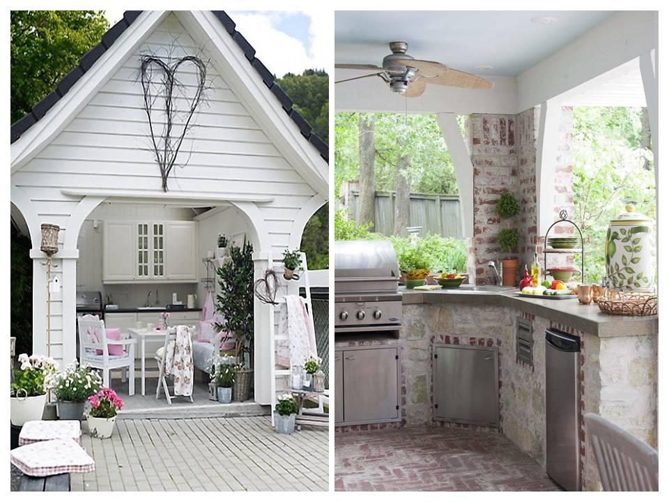 Pogodne Wnętrza  Letnia  kuchnia   -> Kuchnia Letnia Co To