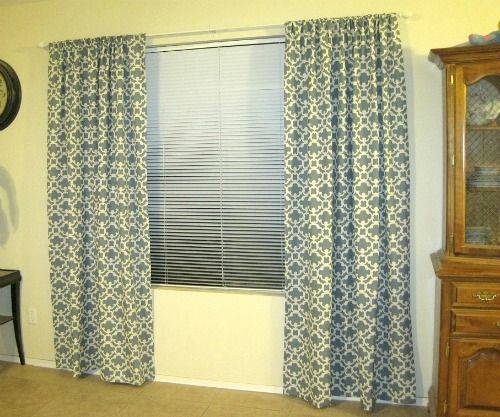 Away She Went: Yellow Ticking Stripe Curtains