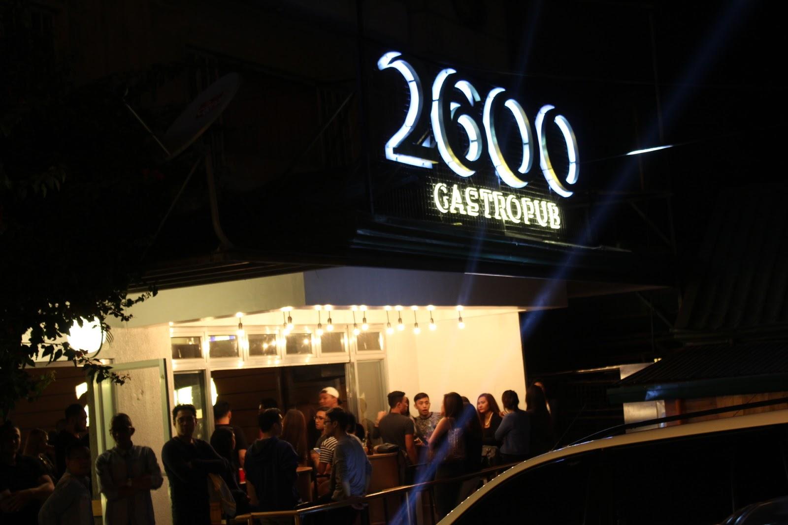 2600 GASTROPUB IN BAGUIO
