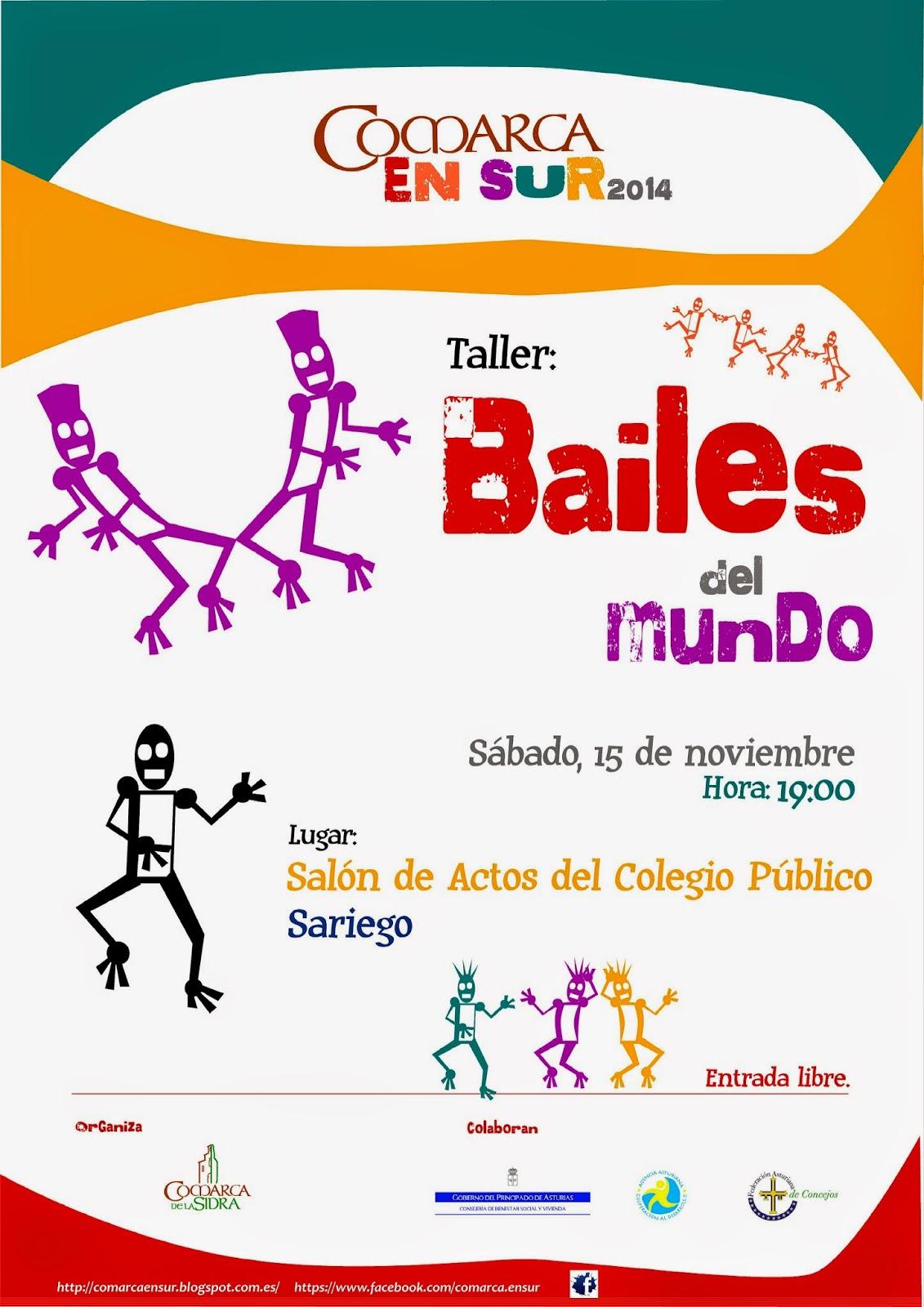 Asturias con niños: Bailes del mundo: taller gratuito