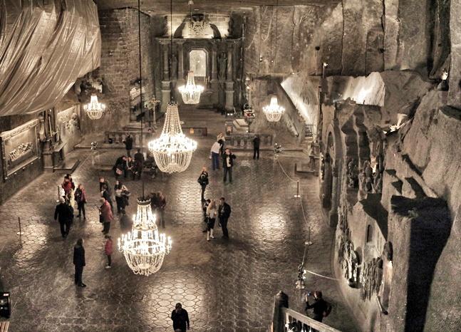 La impresionante capilla de Santa Kinga