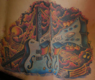 Guitar Tattoo Design Photo Gallery - Guitar Tattoo Ideas