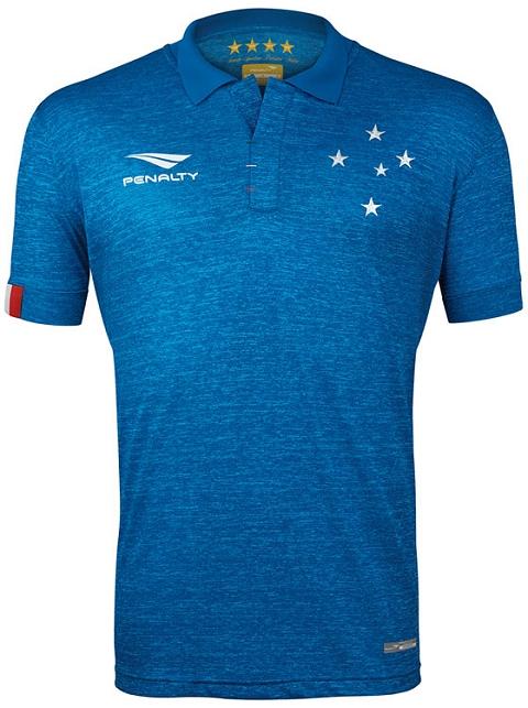 11a057f343ccf Cruzeiro lança seu terceiro uniforme para 2015 - Show de Camisas
