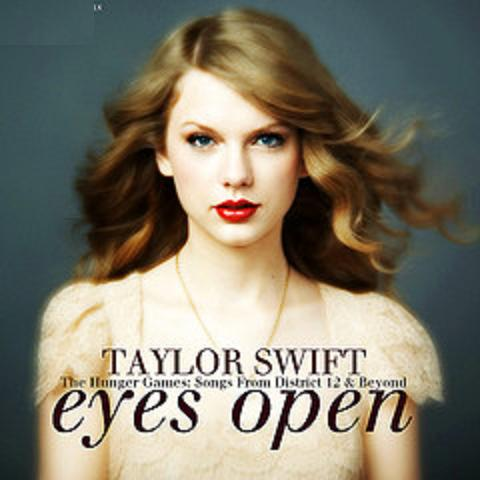 MODERN POP SHEET MUSIC!: Taylor Swift - Eyes Open