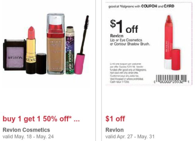 Revlon cosmetics coupons