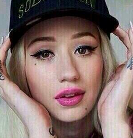 Iggy azalea, snoop dogg, no makeup,