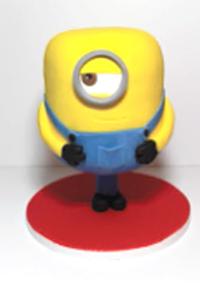 Cake Frame Minion Tutorial