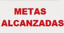 METAS ALCANZADAS