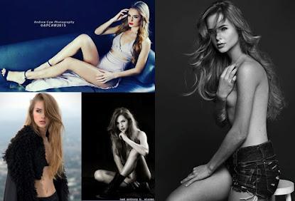 Modelo brasileira começou a modelar no exterior e nunca fez trabalhos no Brasil