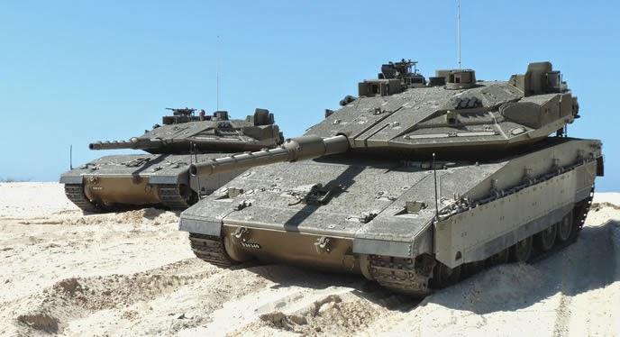 Singapura Beli 50 Tank Merkava Mk4