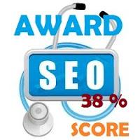 samsury seo score 38%