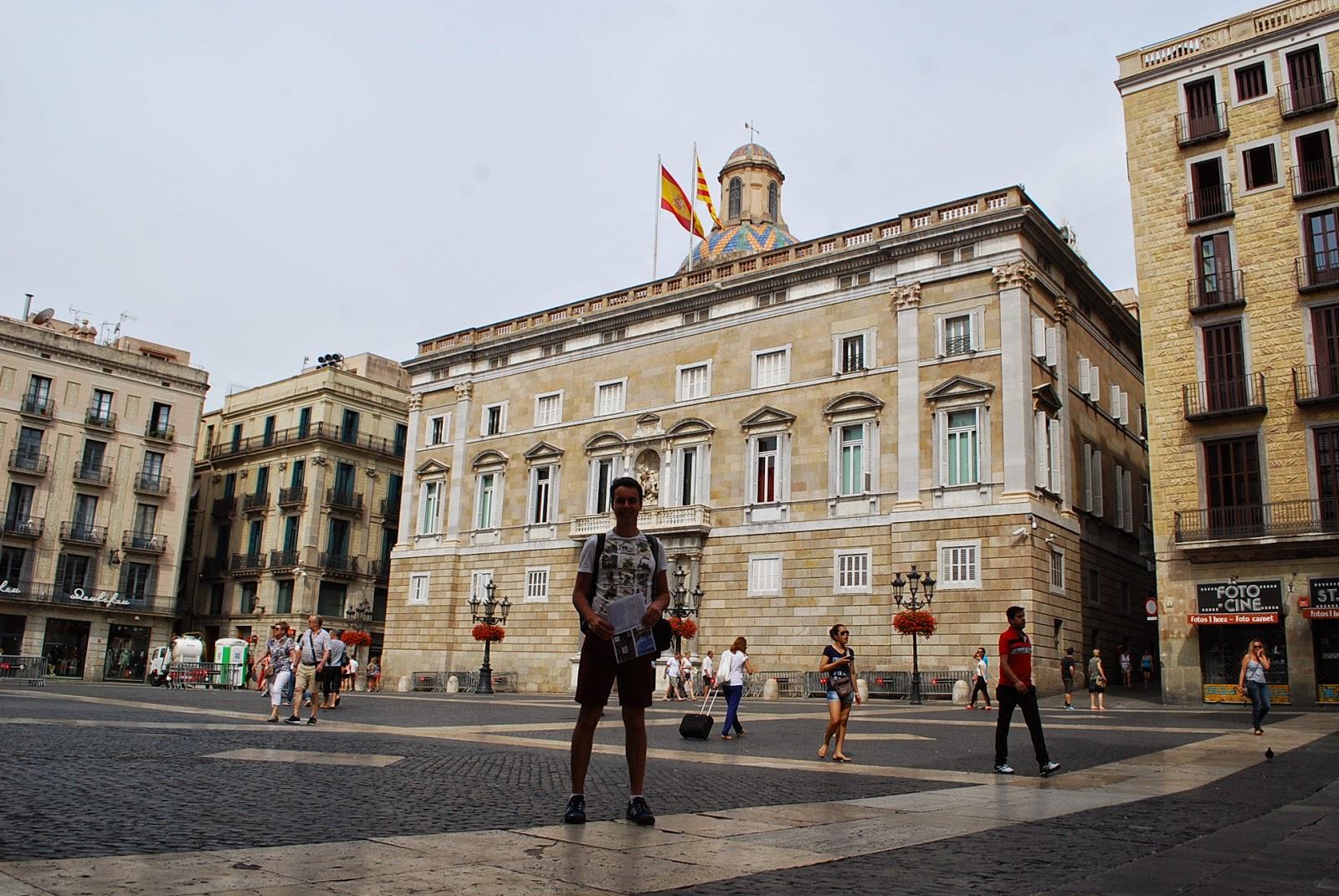 Дворец правительства Каталонии (Palau de la Generalitat de Catalunya)