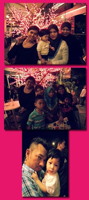 Jiran Muda di Santai Cafe, Bandar Tasik Permaisuri.