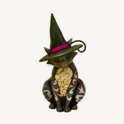 Jim Shore Heartwood Creek Halloween Cat Figurine