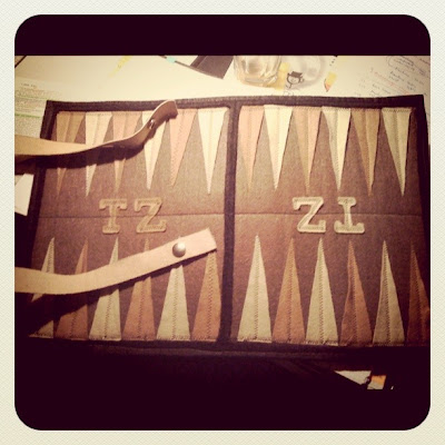 Trendzeta Backgammon, DIY, TZ