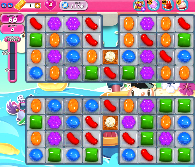 Candy Crush Saga 1170