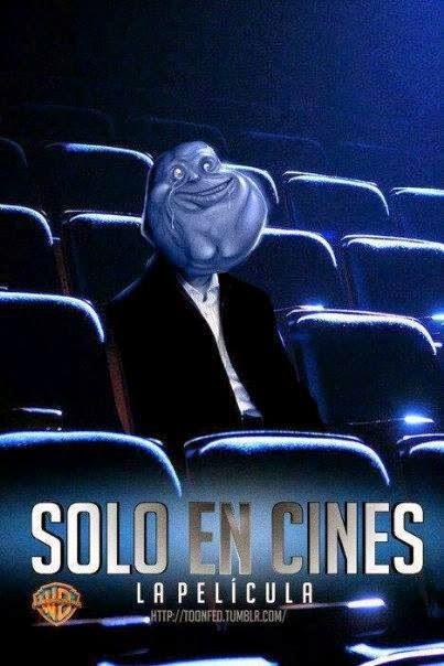 Solo en cines literalmente