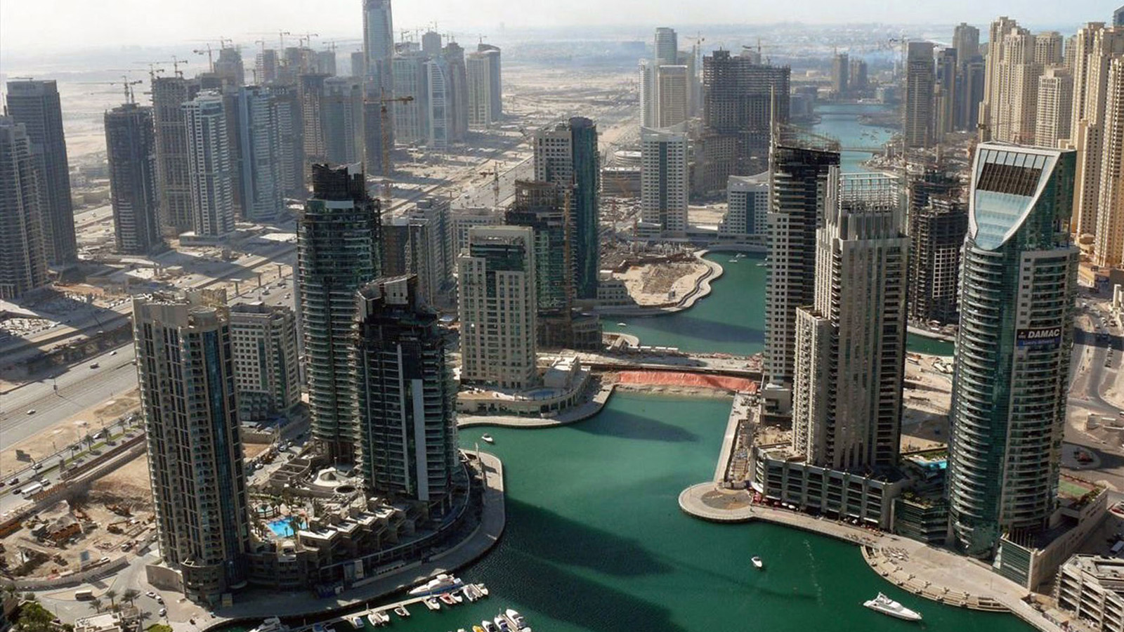 Dubai city overlook wallpaper wallpapers in blog for Home wallpaper uae