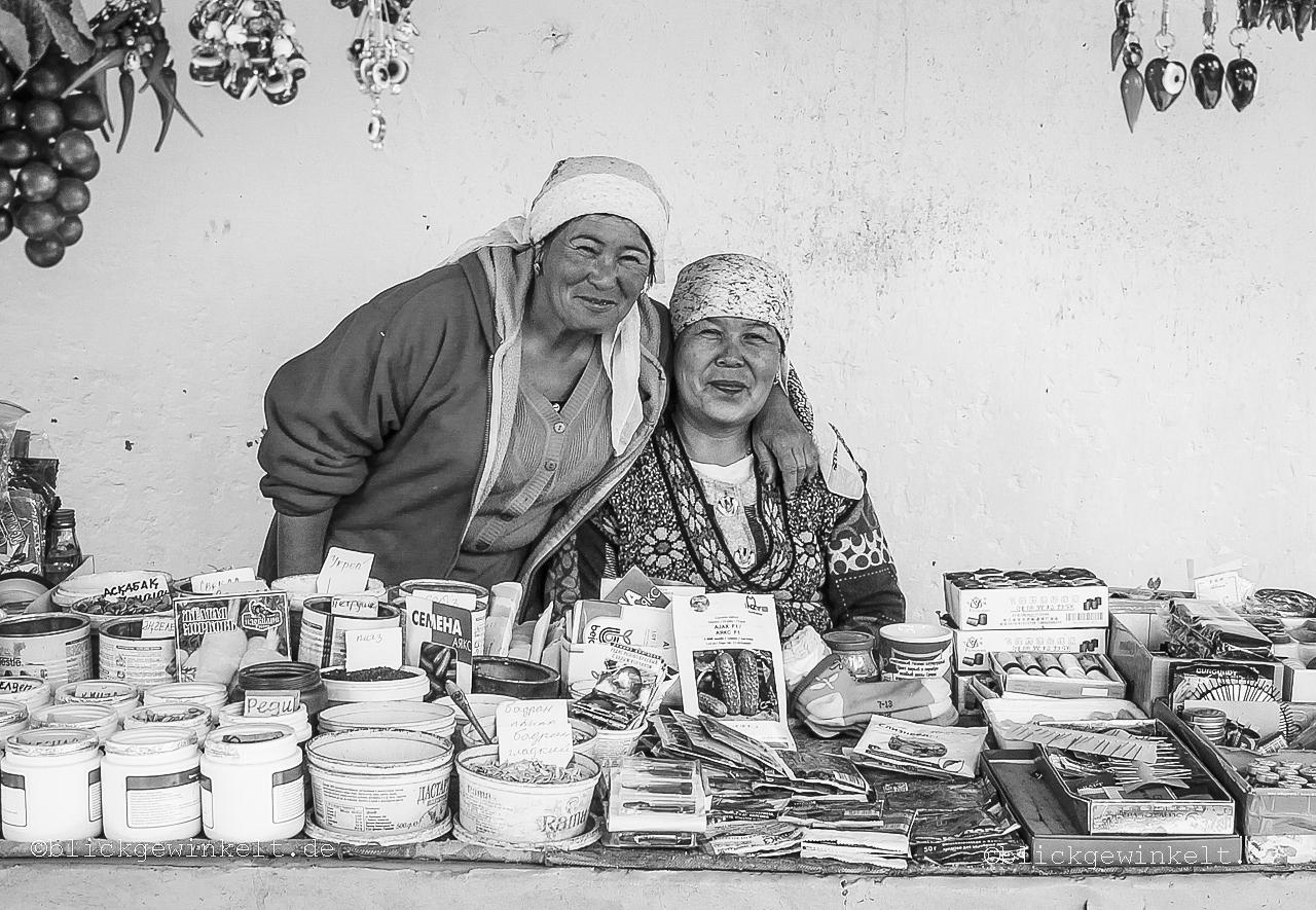 Kasachstan, Marktfrauen