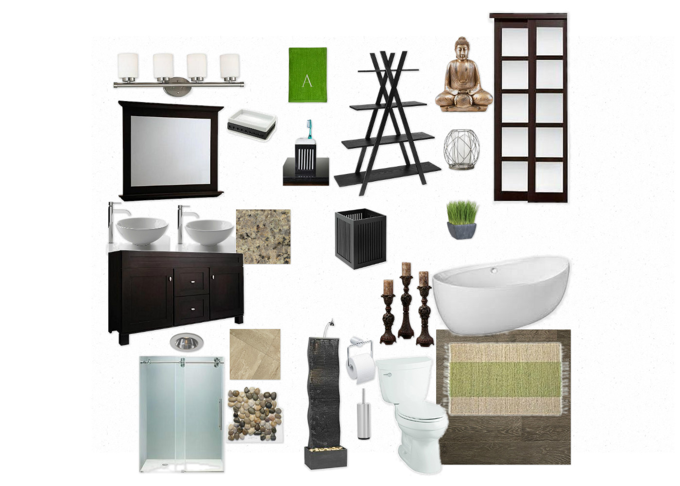 Zen bathroom decor - Zen Bathroom Decor 24