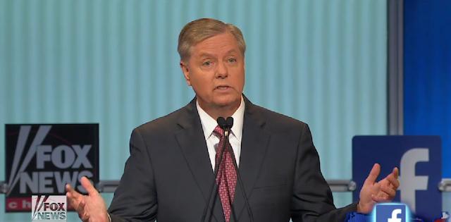 Lindsey Graham first Republican presidential debate primaries loser