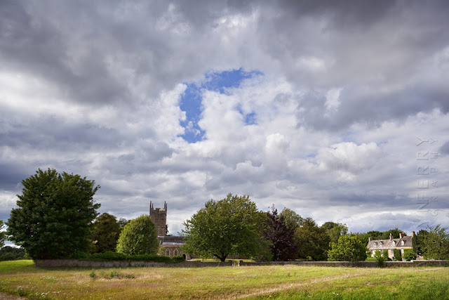 St Andrew's church in Cotswold village of Kingham by Martyn Ferry Photography